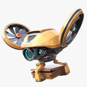 3D delivery drone