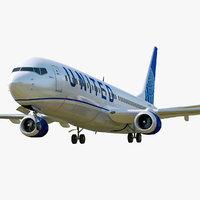 Boeing 737-800 United Air lines