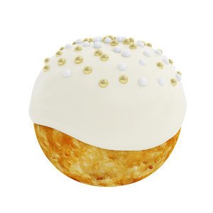 puff frosting 3D model