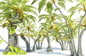 3D prehistoric plants tree