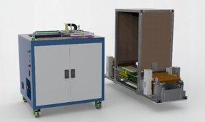 tray loading unloading machine 3D model