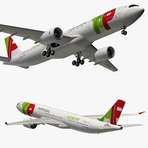airbus a330neo tap air 3D