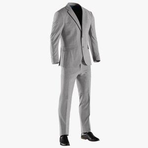 3D realistic men s jacket