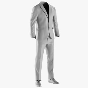 mesh men s jacket 3D model