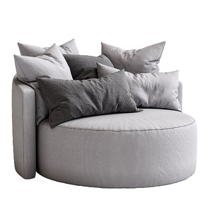 3D model cosy armchair papadatos