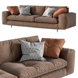 bonaldo sofa avarit 3D model