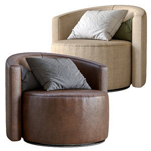 cosy armchair papadatos 3D