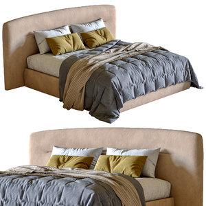 3D jesse bed prince model