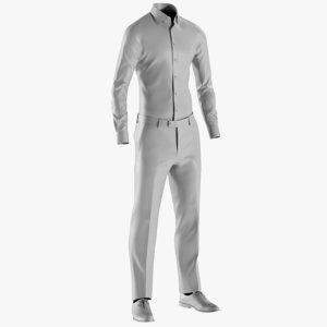 mesh men s pants 3D model
