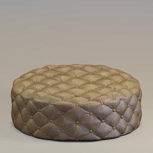 ottoman designed 3D model