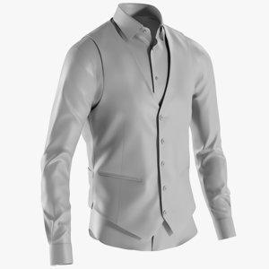 mesh men s shirt model