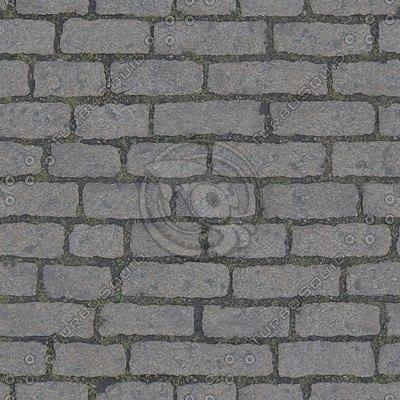 G113 Cobblestones brick road texture