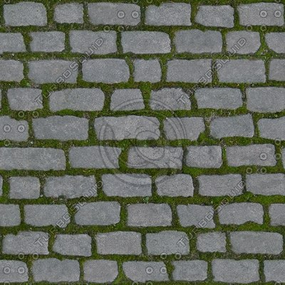G126 stone road street cobblestones SRF