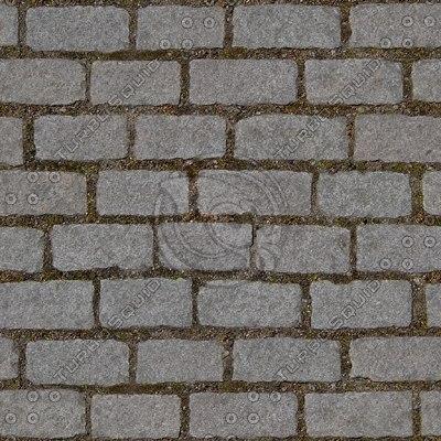 G163 Belgian blocks cobblestones SRF