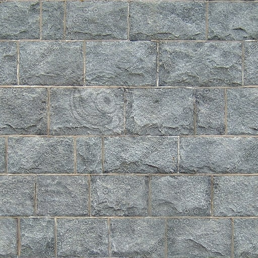 BL130 gray stone blocks
