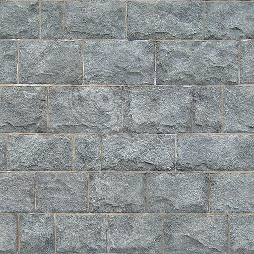 BL130 gray stone blocks