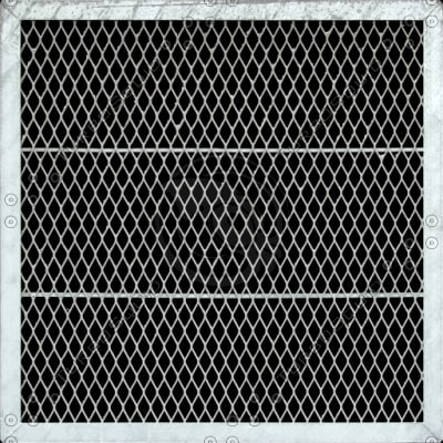 M124 metal grill vent texture