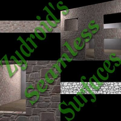 SRF wall stone blocks texture