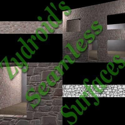 SRF wall stone blocks texture