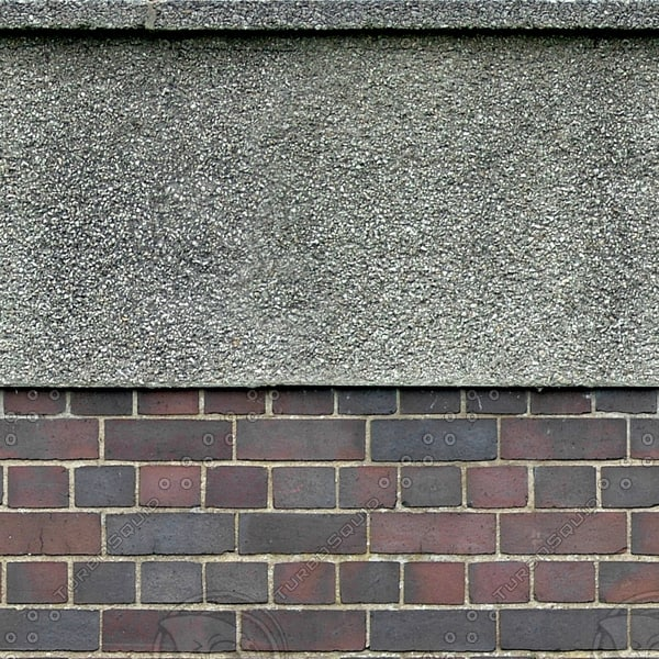 W061 brick stucco wall texture