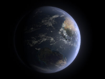 planet earth 3d ma