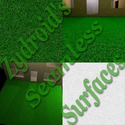SRF grass lawn field