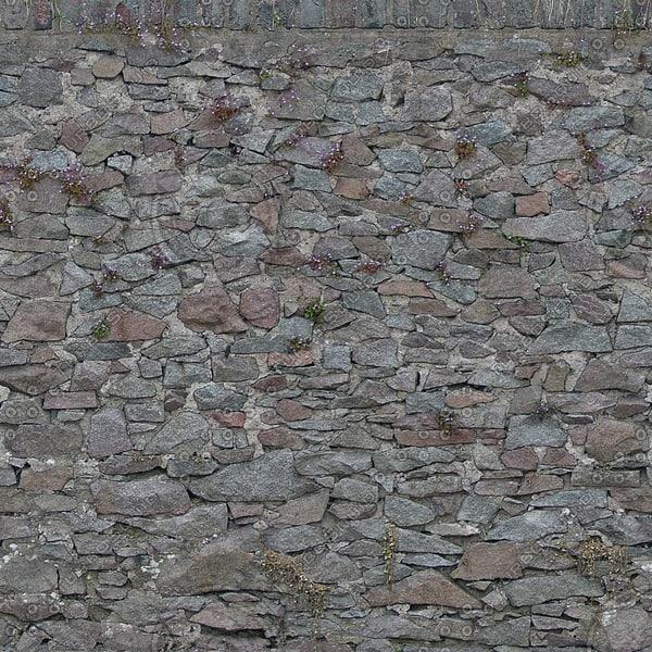 W151 garden stone wall