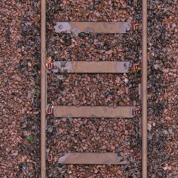 G299 railroad track texture