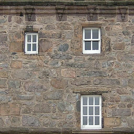 WND118 medieval castle walls texture