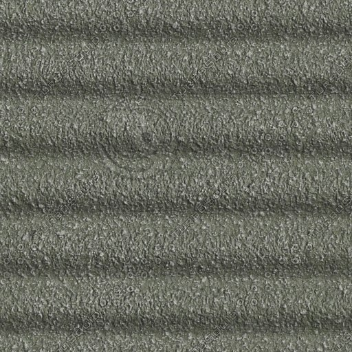 C096 corrugated concrete wall texture