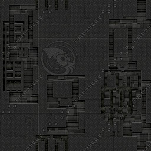 SF059 spaceship metal wall texture