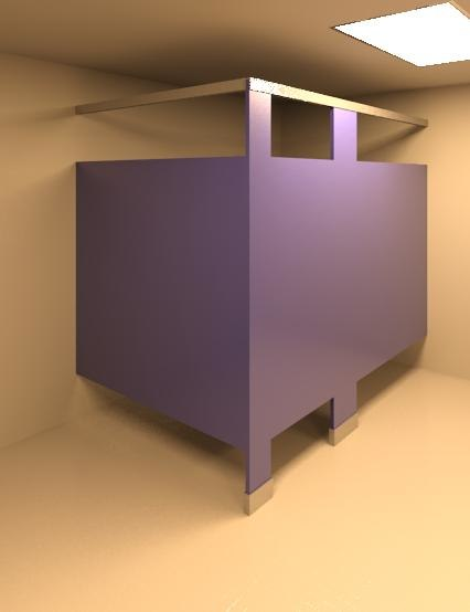 Toilet Partition - Floor Mounted - Long - Braced - Wall Based