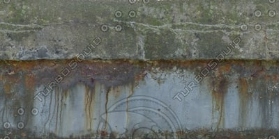 W425 concrete metal wall texture