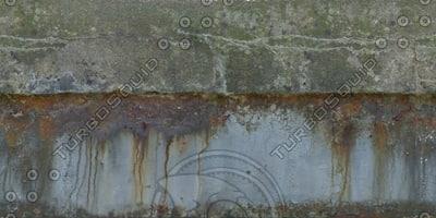 W425 concrete metal wall texture