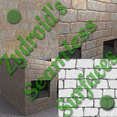 SRF stone blocks wall