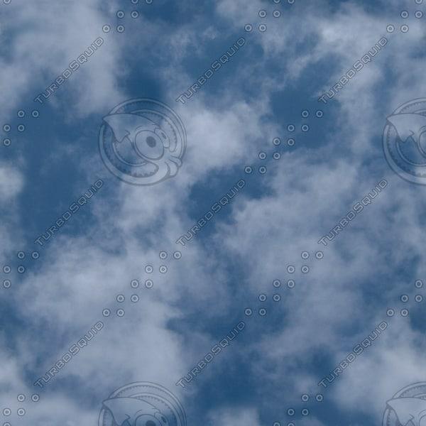 S004 sky texture Cumulus clouds