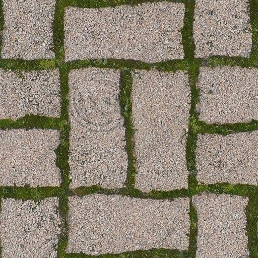 G277 tesselated brick paving texture
