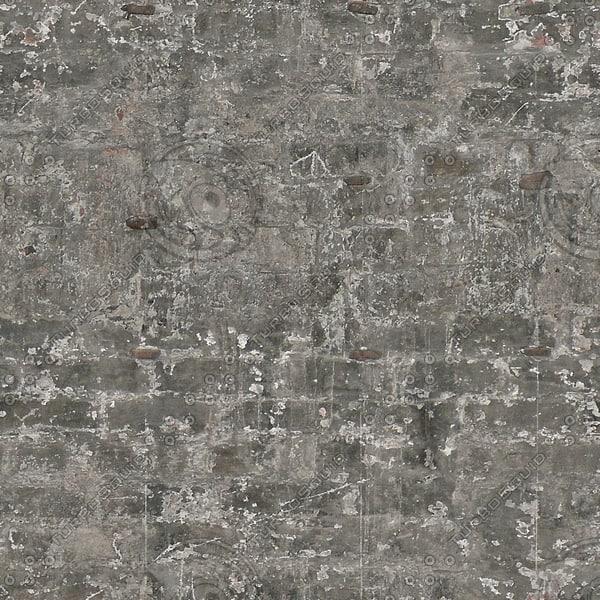 BRK108 gray brick wall texture