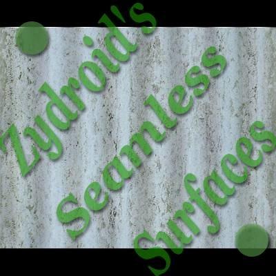 SRF corrugated plastic roof texture