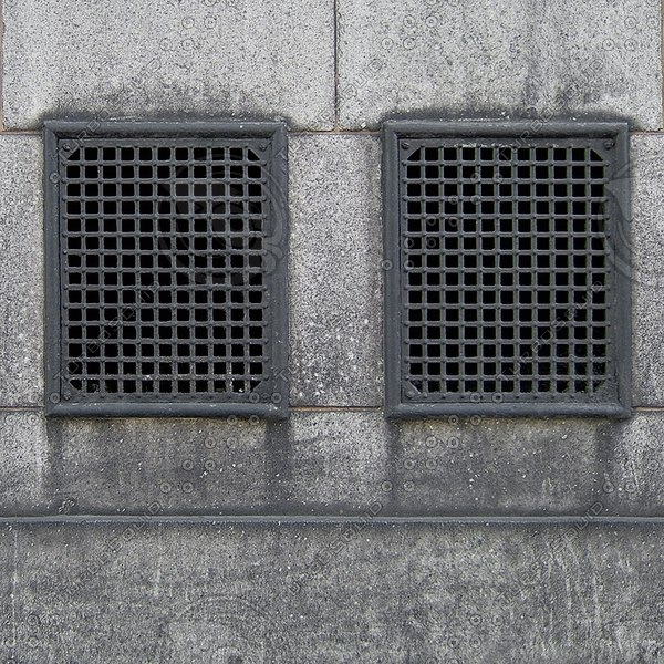 W094 concrete wall vents texture