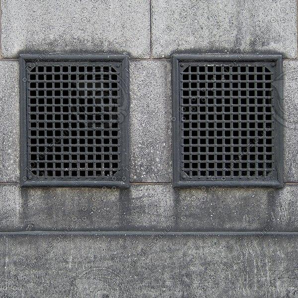 W094 concrete wall vents texture