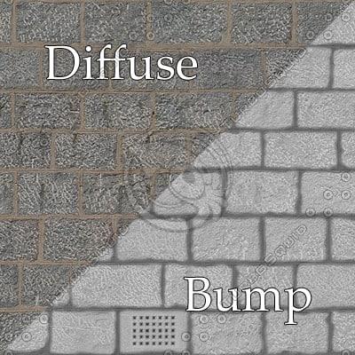 bl010 bumpmap stone wall SRF