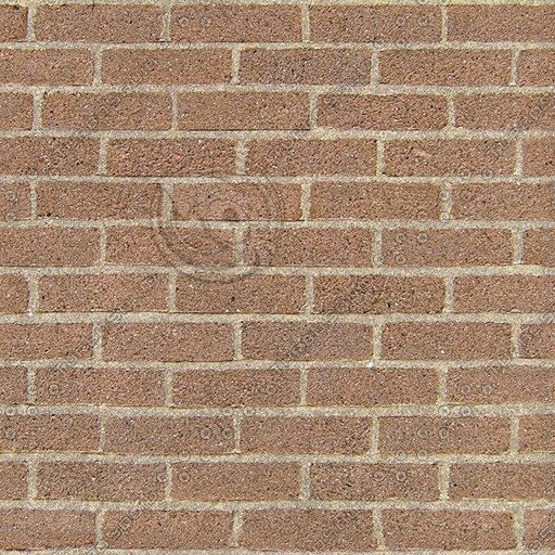 BRK008 brown bricks seamless texture