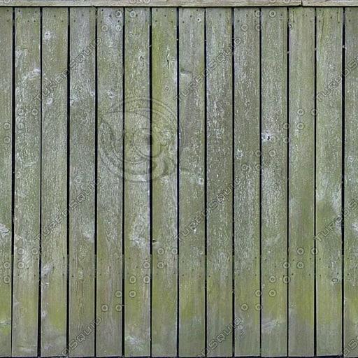 F019 garden fence wood