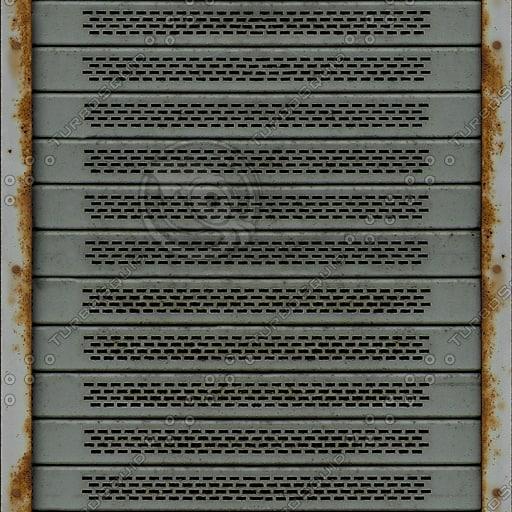 M073 metal roller door texture