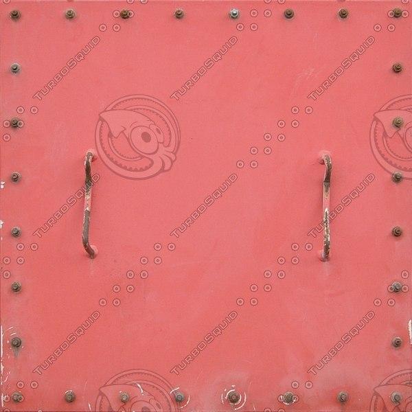 HTCH006 metal hatch door texture