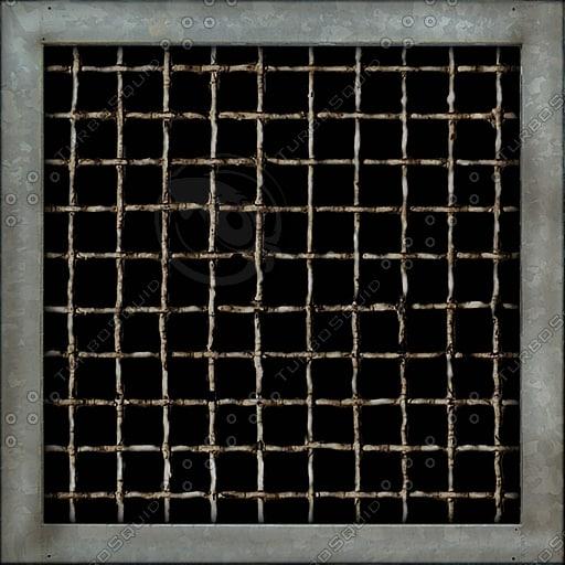 M075 metal vent grill