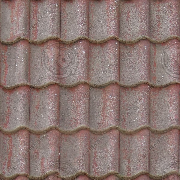 R078 clay roof tiles texture