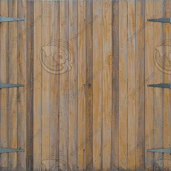 D152 wooden gate texture