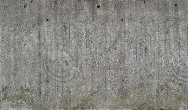 W309 old concrete wall high detail